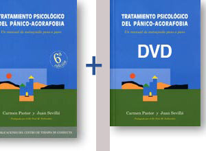 OFERTA PACK Libro+DVD Tratamiento Psicológico del Pánico-Agorafobia