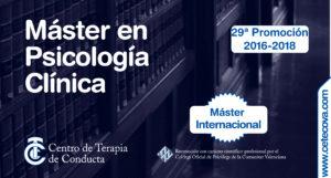 Máster en Psicología Clínica CETECOVA